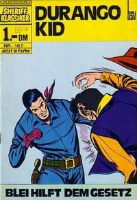 Cover Thumbnail for Sheriff Klassiker (BSV - Williams, 1964 series) #167