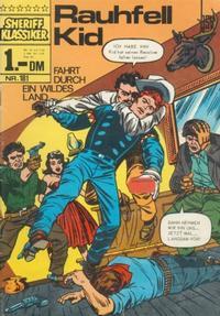 Cover Thumbnail for Sheriff Klassiker (BSV - Williams, 1964 series) #181