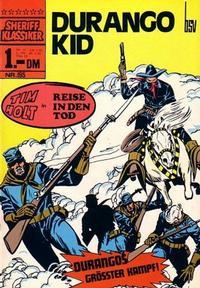 Cover Thumbnail for Sheriff Klassiker (BSV - Williams, 1964 series) #195