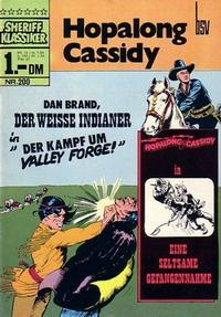 Cover Thumbnail for Sheriff Klassiker (BSV - Williams, 1964 series) #200