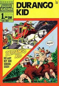 Cover Thumbnail for Sheriff Klassiker (BSV - Williams, 1964 series) #204