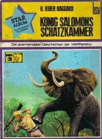 Cover Thumbnail for Star Album [Classics Illustrated] (BSV - Williams, 1970 series) #3 - König Salomons Schatzkammer