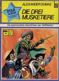 Cover Thumbnail for Star Album [Classics Illustrated] (BSV - Williams, 1970 series) #15 - Die drei Musketiere