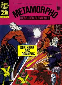 Cover Thumbnail for Super Comics (BSV - Williams, 1968 series) #21