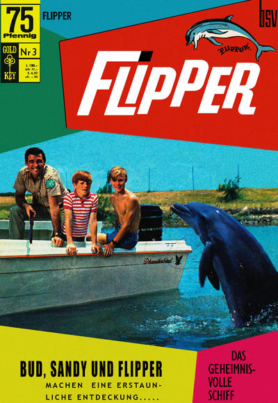 Cover for Flipper (BSV - Williams, 1969 series) #3