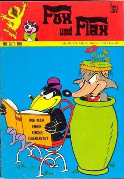 Cover for Fox und Flax (BSV - Williams, 1972 series) #5