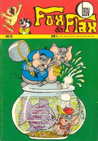 Cover for Fox und Flax (BSV - Williams, 1972 series) #15
