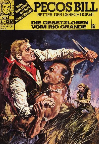 Cover for Pecos Bill (BSV - Williams, 1971 series) #1
