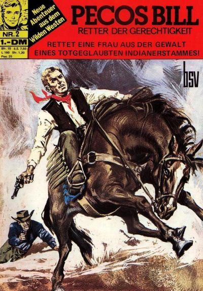 Cover for Pecos Bill (BSV - Williams, 1971 series) #2