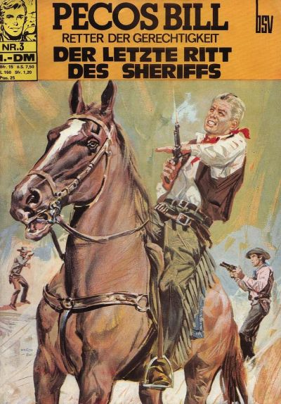 Cover for Pecos Bill (BSV - Williams, 1971 series) #3