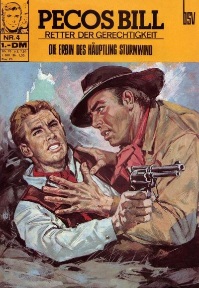 Cover for Pecos Bill (BSV - Williams, 1971 series) #4