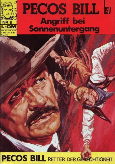Cover for Pecos Bill (BSV - Williams, 1971 series) #6