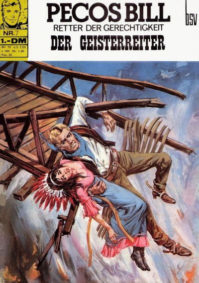 Cover for Pecos Bill (BSV - Williams, 1971 series) #7