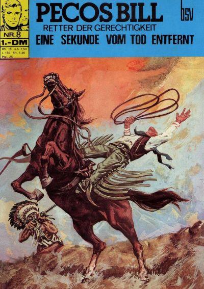 Cover for Pecos Bill (BSV - Williams, 1971 series) #8