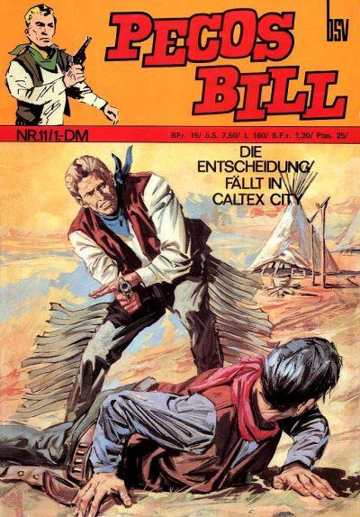 Cover for Pecos Bill (BSV - Williams, 1971 series) #11