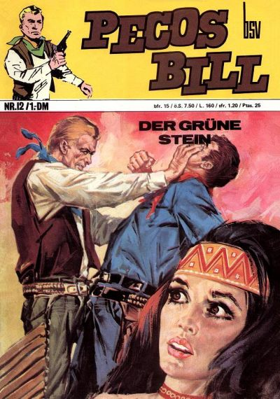 Cover for Pecos Bill (BSV - Williams, 1971 series) #12