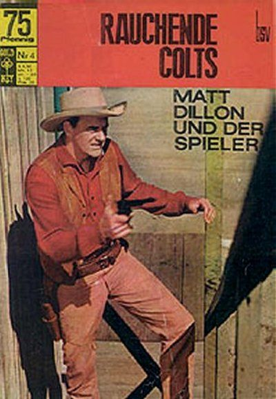Cover for Rauchende Colts (BSV - Williams, 1969 series) #4
