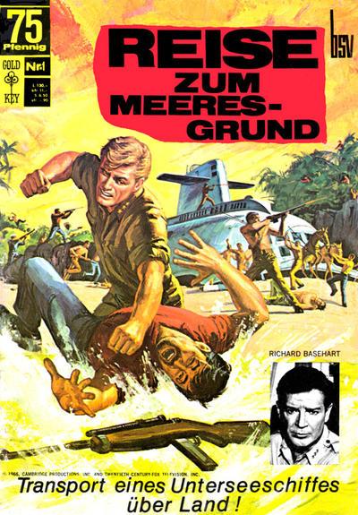 Cover for Reise zum Meeresgrund (BSV - Williams, 1968 series) #1