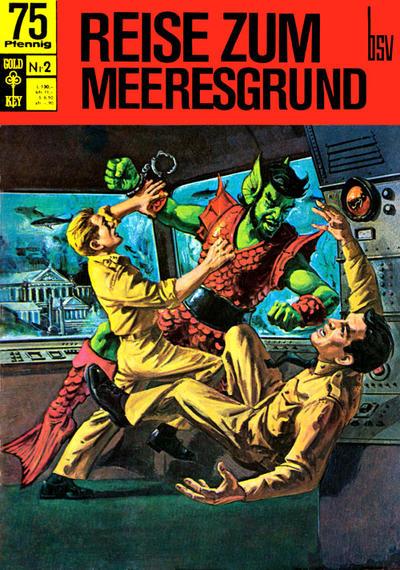 Cover for Reise zum Meeresgrund (BSV - Williams, 1968 series) #2