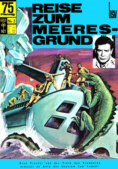 Cover for Reise zum Meeresgrund (BSV - Williams, 1968 series) #3