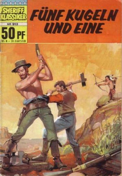 Cover for Sheriff Klassiker (BSV - Williams, 1964 series) #913