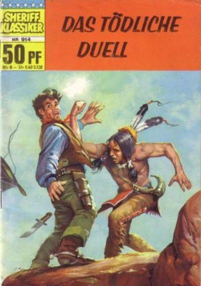 Cover for Sheriff Klassiker (BSV - Williams, 1964 series) #914