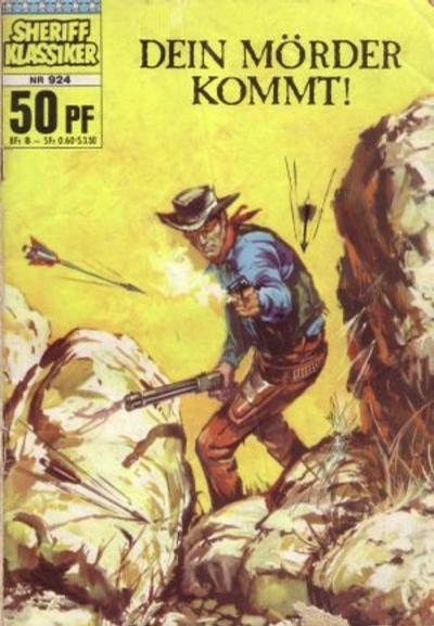 Cover for Sheriff Klassiker (BSV - Williams, 1964 series) #924