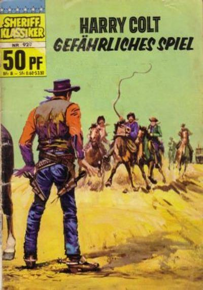 Cover for Sheriff Klassiker (BSV - Williams, 1964 series) #929