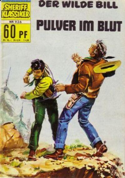 Cover for Sheriff Klassiker (BSV - Williams, 1964 series) #936