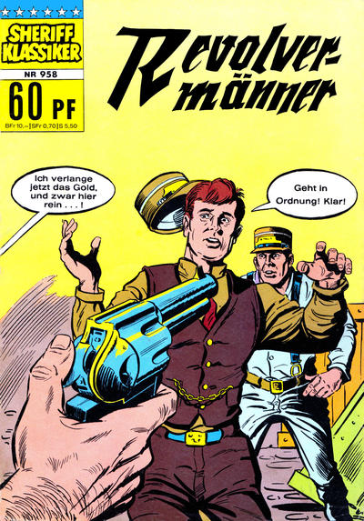 Cover for Sheriff Klassiker (BSV - Williams, 1964 series) #958