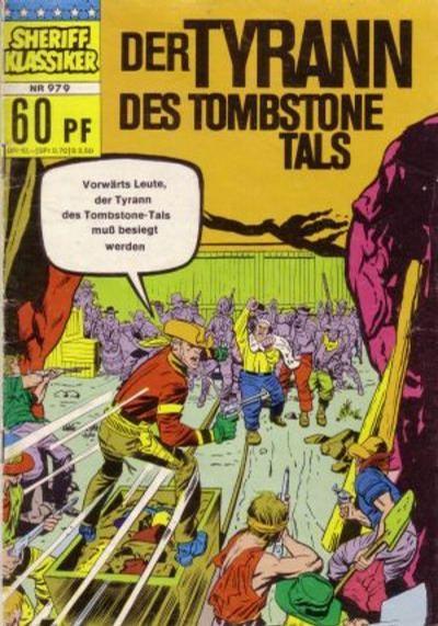 Cover for Sheriff Klassiker (BSV - Williams, 1964 series) #979