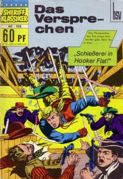 Cover for Sheriff Klassiker (BSV - Williams, 1964 series) #108