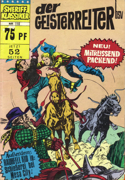 Cover for Sheriff Klassiker (BSV - Williams, 1964 series) #110