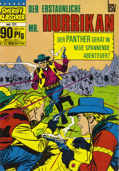 Cover for Sheriff Klassiker (BSV - Williams, 1964 series) #121