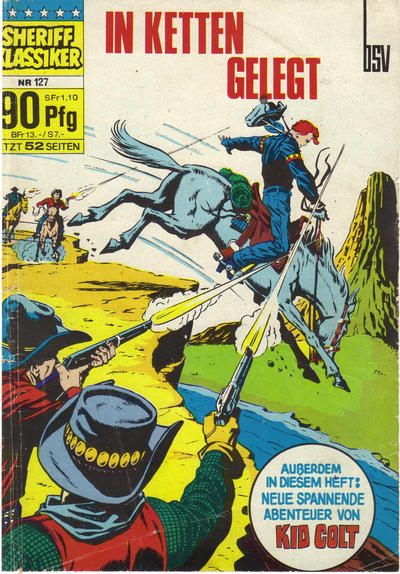 Cover for Sheriff Klassiker (BSV - Williams, 1964 series) #127