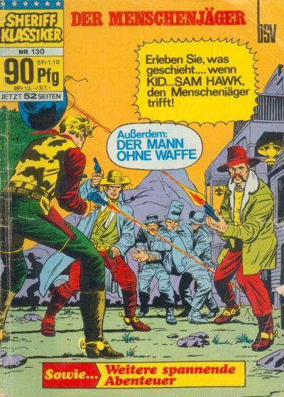 Cover for Sheriff Klassiker (BSV - Williams, 1964 series) #130