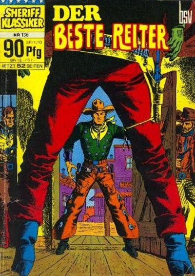 Cover for Sheriff Klassiker (BSV - Williams, 1964 series) #136