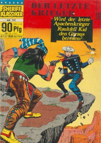 Cover for Sheriff Klassiker (BSV - Williams, 1964 series) #141
