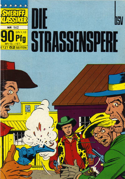 Cover for Sheriff Klassiker (BSV - Williams, 1964 series) #142