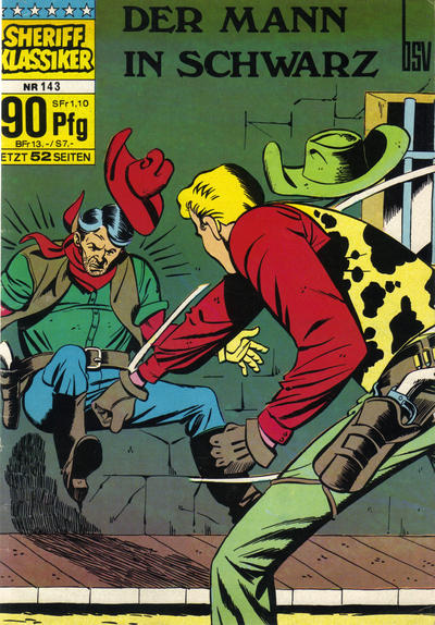 Cover for Sheriff Klassiker (BSV - Williams, 1964 series) #143