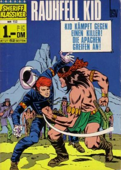 Cover for Sheriff Klassiker (BSV - Williams, 1964 series) #152