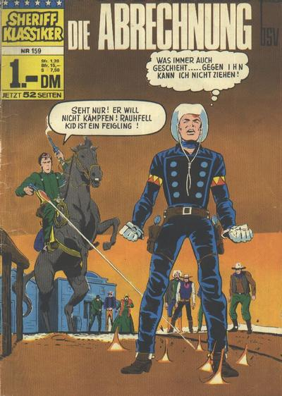 Cover for Sheriff Klassiker (BSV - Williams, 1964 series) #159