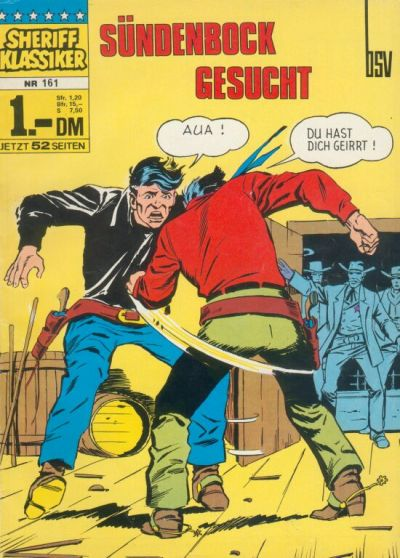 Cover for Sheriff Klassiker (BSV - Williams, 1964 series) #161