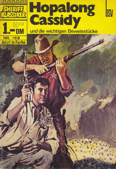 Cover for Sheriff Klassiker (BSV - Williams, 1964 series) #168