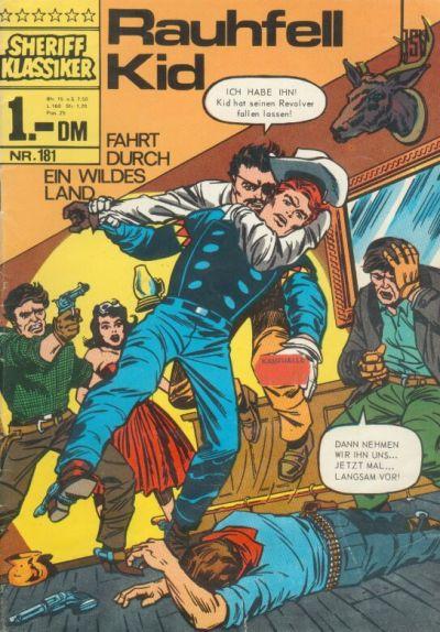 Cover for Sheriff Klassiker (BSV - Williams, 1964 series) #181