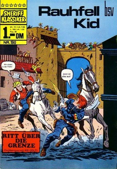 Cover for Sheriff Klassiker (BSV - Williams, 1964 series) #190