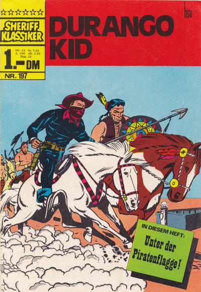 Cover for Sheriff Klassiker (BSV - Williams, 1964 series) #197
