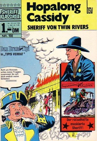 Cover for Sheriff Klassiker (BSV - Williams, 1964 series) #198