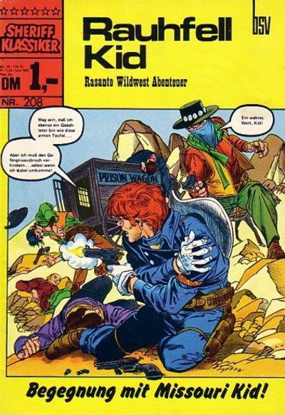 Cover for Sheriff Klassiker (BSV - Williams, 1964 series) #208