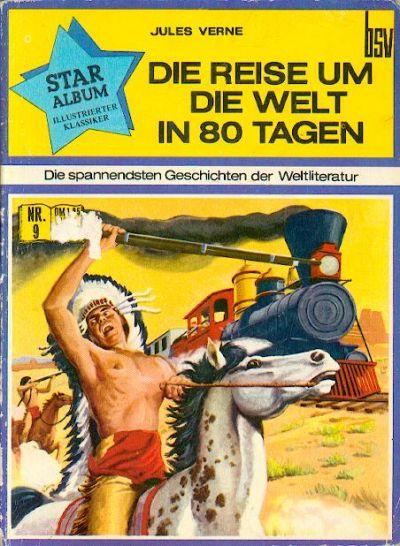 Cover for Star Album [Classics Illustrated] (BSV - Williams, 1970 series) #9 - Die Reise um die Welt in 80 Tagen